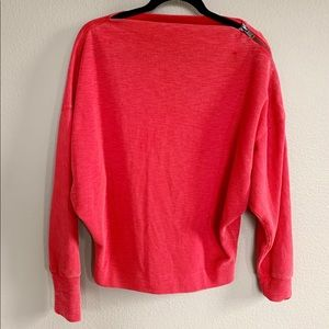 Free People Slouchy Sweater Ribbed Pullover
